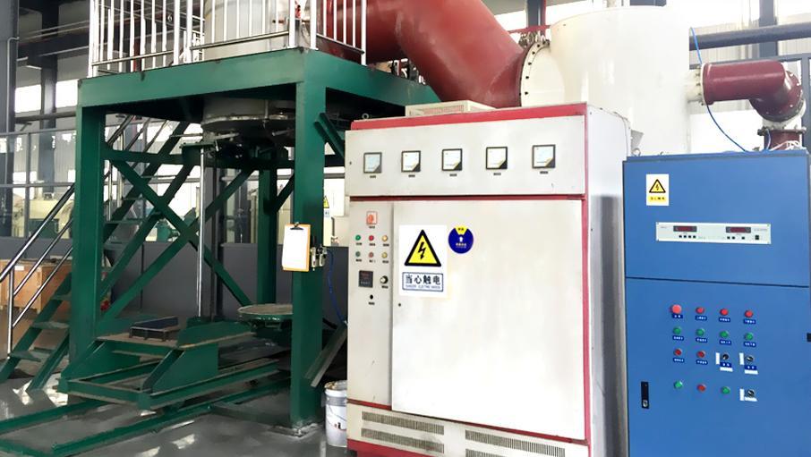 远航工业炉大型气相沉积中频高温炉解决方案