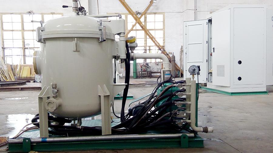 小型实验型石墨化炉