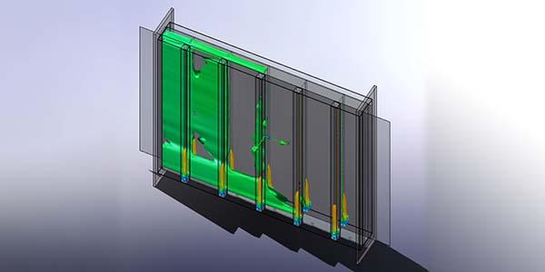 碳纸碳布连续化生产炭化及石墨化炉气体密封气封的设置