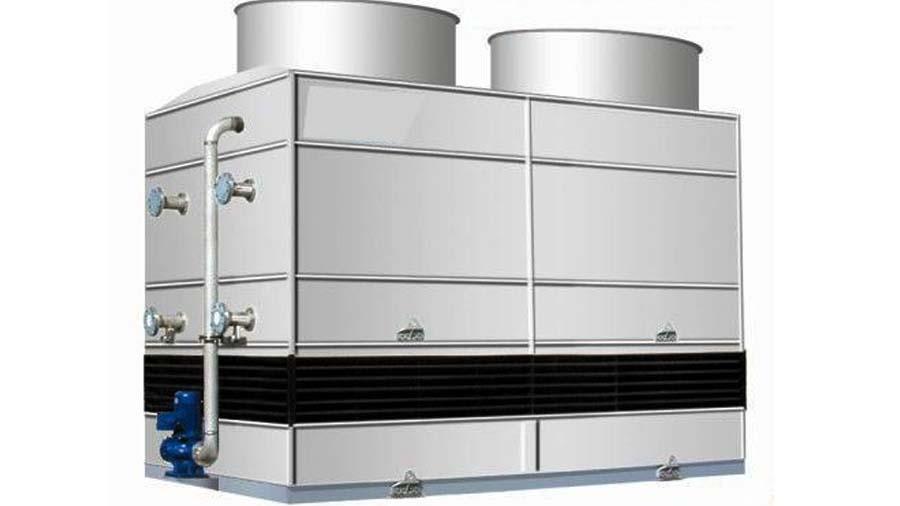 工业炉循环水冷却塔系统