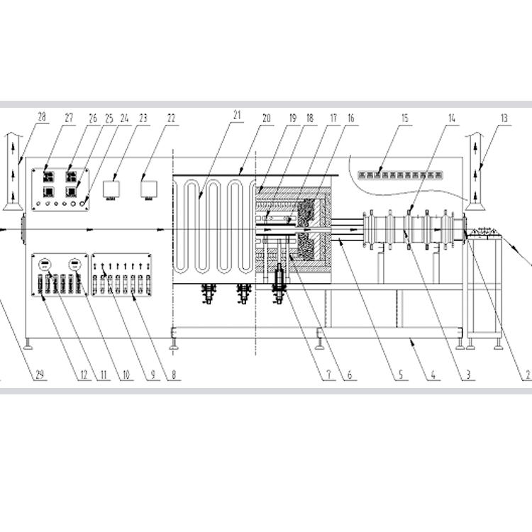 碳纸连续碳化炉1