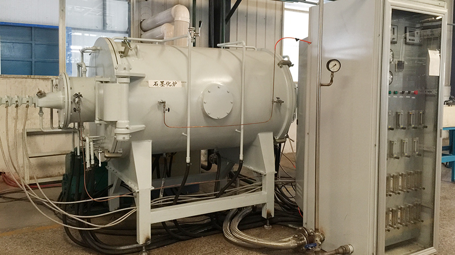 连续式石墨化炉